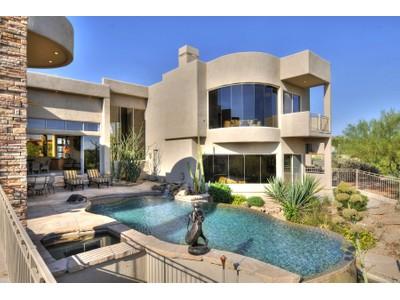 Maison unifamiliale for sales at Amazing Scottsdale Getaway in Prestigious Guard Gated Candlewood Estates 10589 E Skinner Drive  Scottsdale, Arizona 85262 États-Unis