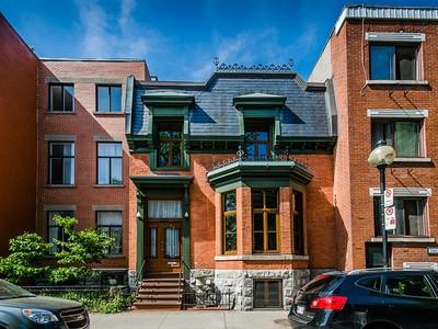 Nhà ở một gia đình for sales at Le Plateau-Mont-Royal (Montréal) 3438 Rue De Bullion  Le Plateau Mont Royal, Quebec H2X2Z9 Canada