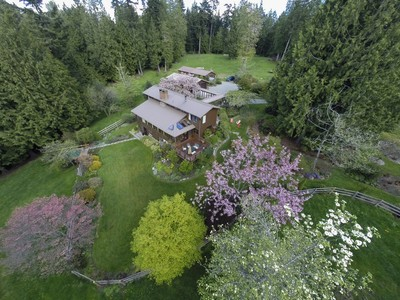 Single Family Home for sales at Brigham Estate 6450 NE Brigham Road Bainbridge Island, Washington 98110 United States