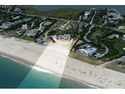 Single Family Home for sales at Spectacular Quogue Oceanfront Dune Road Quogue, New York 11959 United States