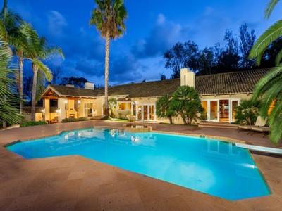 Casa Unifamiliar for sales at 5340 Calzada Del Bosque   Rancho Santa Fe, California 92067 Estados Unidos