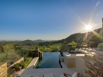 Villa for sales at Stunning Bing Hu Designed Contemporary Home On Premiere Desert Mountain Homesite 42535 N 108th Street Scottsdale, Arizona 85262 Stati Uniti