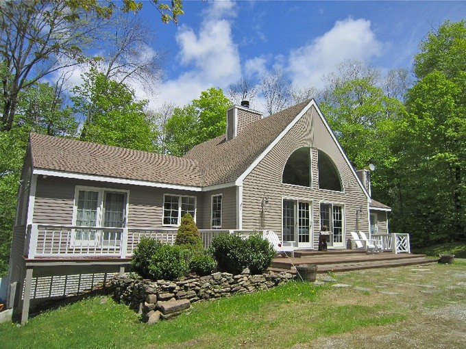 Single Family Home for sales at South Hill Contemporary 113 Ellison Loop Ludlow, Vermont 05149 United States