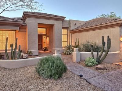 独户住宅 for sales at Sprawling Gracious Home with Privacy and Spectacular Views in Terravita 6450 E Amber Sun Drive Scottsdale, 亚利桑那州 85266 美国