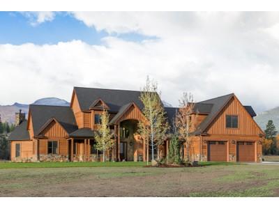 Casa para uma família for sales at Burr Creek Ranch 326 Hillside Ranch Road   Victor, Montana 59875 Estados Unidos