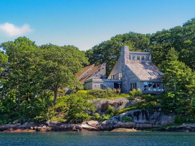 Single Family Home for sales at Abenaki Point 30 Narrows Drive Main House Deer Isle, Maine 04627 United States