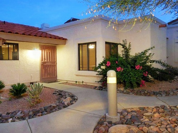 Townhouse for sales at Beautifully Remodeled Townhome in Gated Tucson Foothills Community 7601 N Calle Sin Envidia #15 Tucson, Arizona 85718 United States