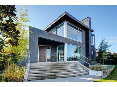 Maison unifamiliale for sales at Truly Beyond the Extraordinary Contemporary Home 3002 W King Edward Avenue  Vancouver, Colombie-Britannique V6L1V3 Canada