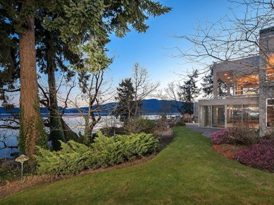 Casa Unifamiliar for sales at Premier Waterfront Estate 9020 Ardmore Drive Victoria, British Columbia V8L3S1 Canadá