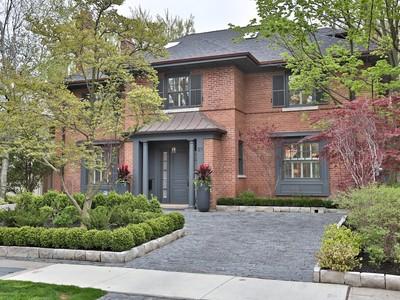 Частный односемейный дом for sales at Truly Exceptional Rosedale Property 57 Highland Avenue Toronto, Онтарио M4W2A2 Канада