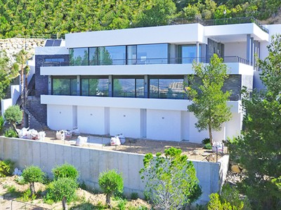 Single Family Home for sales at Recently finished luxury Villa with superb Quality and panoramic View Avenida de Europa Altea, Alicante Costa Blanca 03590 Spain