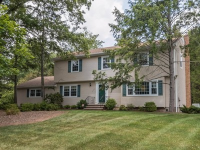 Single Family Home for sales at Gracious Colonial 275 Farmer Road  Bridgewater, New Jersey 08807 United States