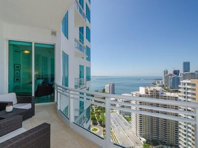 共管式独立产权公寓 for sales at 900 Brickell Key Blvd. #2805 900 Brickell Key Blvd. Unit 2805  Miami, 佛罗里达州 33131 美国
