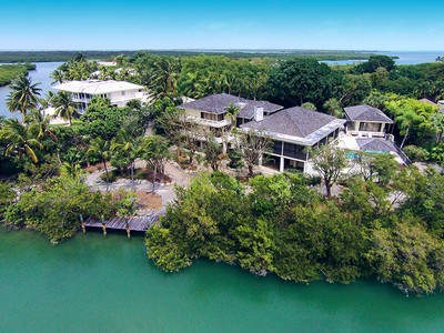 Single Family Home for sales at Truly Unique Waterfront Home at Ocean Reef 28 Cardinal Lane Key Largo, Florida 33037 United States