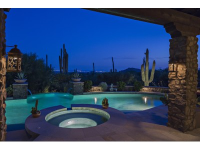 一戸建て for sales at Elegant Spanish Colonial Style Home In Spectacular Desert Mountain 42068 N Stone Cutter Drive Scottsdale, アリゾナ 85262 アメリカ合衆国