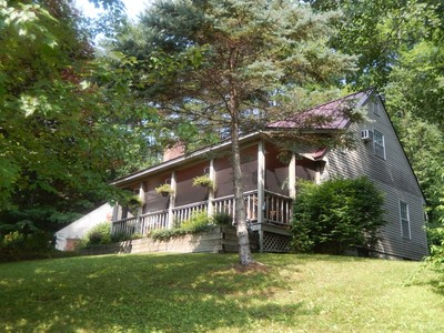 Single Family Home for sales at Charming Ludlow Village Cape 1 Whispering Pines   Ludlow, Vermont 05149 United States