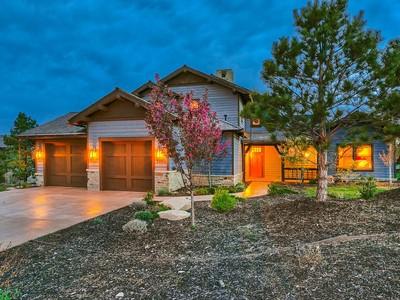Vivienda unifamiliar for sales at Gorgeous Tuhaye Cabin 3006 E Painted Bear Trl Park City, Utah 84060 Estados Unidos