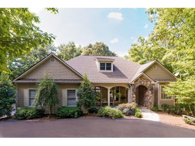 Maison unifamiliale for sales at Privacy and Elegance 656 Wedgewood Drive Big Canoe, Georgia 30143 États-Unis