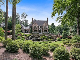 Single Family Home for sales at Extraordinary English Manor House in Buckhead 4370 Paran Place NW Atlanta, Georgia 30327 United States