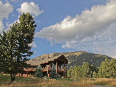 Single Family Home for sales at Equestrian Utopia 298 Ridge Fork Road Big Sky, Montana 59716 United States