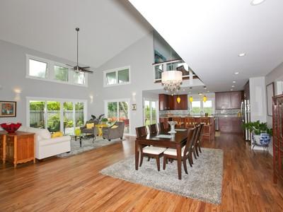 Maison unifamiliale for sales at New Kaimalino Home 629 Milokai Street Kailua, Hawaii 96734 États-Unis