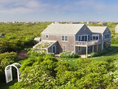 獨棟家庭住宅 for sales at Tom Nevers Offering Panoramic Ocean Views  Nantucket, 麻塞諸塞州 02554 美國
