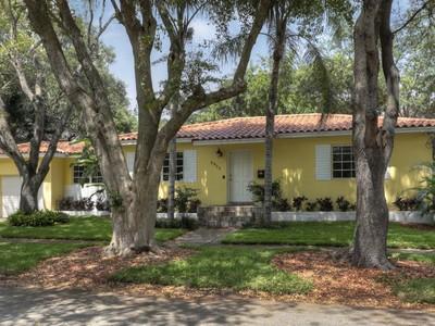 Tek Ailelik Ev for sales at 2935 Calusa Street  Coconut Grove, Florida 33133 Amerika Birleşik Devletleri