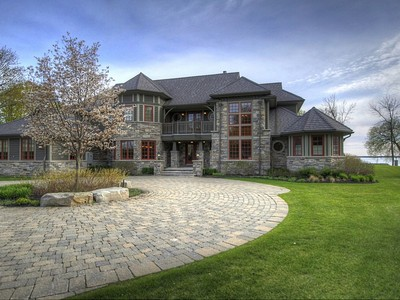 Maison unifamiliale for sales at Lake Simcoe Executive Waterfront 1324 Spyglass Point Road Brechin, Ontario L0K1B0 Canada