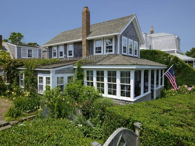 Single Family Home for sales at Enchanting Sconset Cottage! 23 Ocean Avenue  Siasconset, Massachusetts 02564 United States