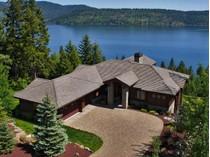 Casa Unifamiliar for sales at Stunning Black Rock CDA Lake View Home 6008 W ONYX CIR   Coeur D Alene, Idaho 83814 Estados Unidos