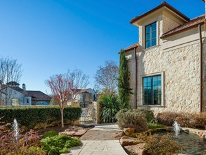 Additional photo for property listing at Mediterranean Retreat in the Creeks of Preston Hollow 10718 Bridge Hollow Court Dallas, Texas 75229 United States