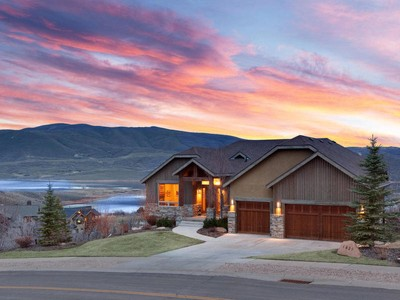 Single Family Home for sales at Extraordinary Jordanelle Views! 1629 Alpine Ave Heber City, Utah 84032 United States