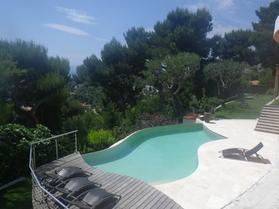 Single Family Home for sales at Fully Renovated villa with sea views Roquebrune Cap Martin Roquebrune Cap Martin, Provence-Alpes-Cote D'Azur 06190 France