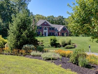 Single Family Home for sales at Brick Hill Estate Masterpiece 18 Fawn Ridge Road Hopkinton, Massachusetts 01748 United States