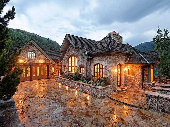 Maison unifamiliale for sales at Unmatched on Red Mountain 649 Hunter Creek Road Aspen, Colorado 81611 États-Unis