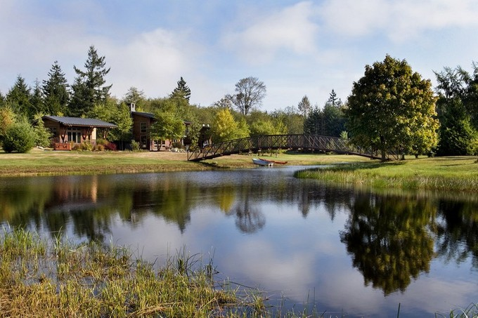 Einfamilienhaus for sales at Modern Rural Estate 14921 22nd Ave NW Marysville, Washington 98271 Vereinigte Staaten