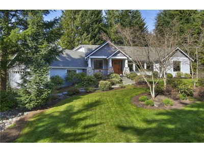Single Family Home for sales at Fabulous Canterwood Rambler 11611 Hunter Lane NW Gig Harbor, Washington 98332 United States