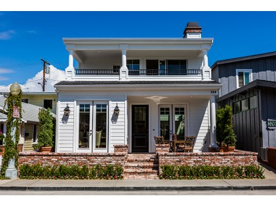 独户住宅 for sales at 208 Ruby Avenue  Newport Beach, 加利福尼亚州 92662 美国