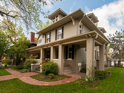 Maison unifamiliale for sales at 181 Franklin Street  Denver, Colorado 80218 États-Unis