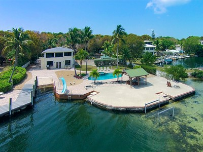 Single Family Home for sales at Tropical Island Living 300 Buttonwood Shores Drive  Key Largo, Florida 33037 United States