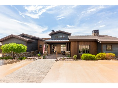Einfamilienhaus for sales at Stunning & Intricate Design 15190 N Four Mile Creek Lane Prescott, Arizona 86305 Vereinigte Staaten