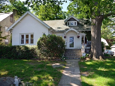Single Family Home for sales at Charming Rouken Glen 1920's Cape 42 Villa Road Larchmont, New York 10538 United States