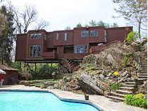 Einfamilienhaus for sales at Cool California Contemporary Hideaway 36 Buckout Road   West Harrison, New York 10604 Vereinigte Staaten