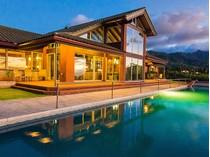 단독 가정 주택 for sales at Exclusive North Shore Estate 65-1040 Poamoho St   Waialua, 하와이 96791 미국