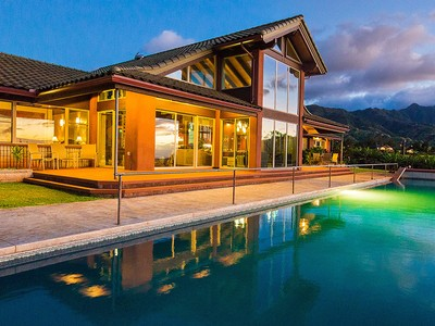 Single Family Home for sales at Exclusive North Shore Estate 65-1040 Poamoho St Waialua, Hawaii 96791 United States