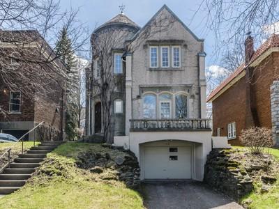 Частный односемейный дом for sales at Outremont 25 Av. Beloeil Outremont, Квебек H2V2Z1 Канада