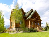 Single Family Home for sales at Henry's Lake Log Home  Island Park,  83429 United States
