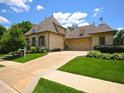 Single Family Home for sales at Spectacular Residence in Morgans Creek 4877 Morgans Creek Court Carmel, Indiana 46033 United States