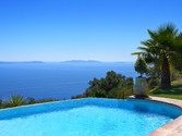 Maison unifamiliale for sales at Luxurious provençal style property with exceptional sea views  Other France,  83820 France