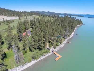 独户住宅 for sales at Flathead Lake Orchard 22782 Damaskes Way Rollins, 蒙大拿州 59931 美国